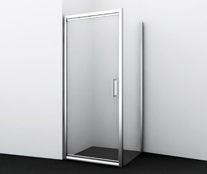 Фото - Душевой уголок WasserKRAFT Salm 27I17, прямоугольник, с поворотно-складной дверью
