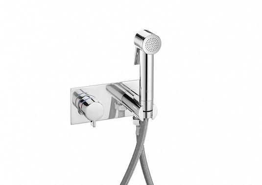 Фото - Гигенический душ Roca Be Fresh 75B9361C00 для биде душевая лейка, держатель, гибкий шланг (хром)
