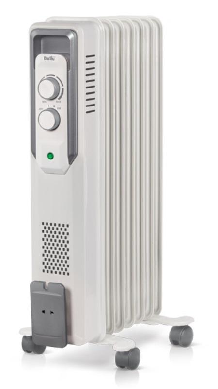 Фото - Масляный радиатор Ballu CUBE BOH/CB-07W 1500 (7 секций)