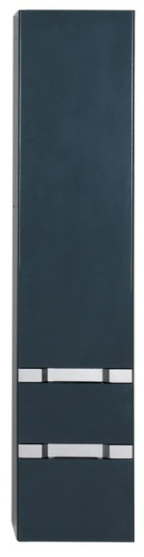 Пенал Aquanet Виго 40 сине-серый RAL-7031 (183360)