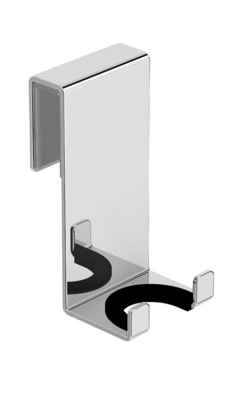 Держатель Black&White SN-6283 двойной на стекло (50x40x80), фото