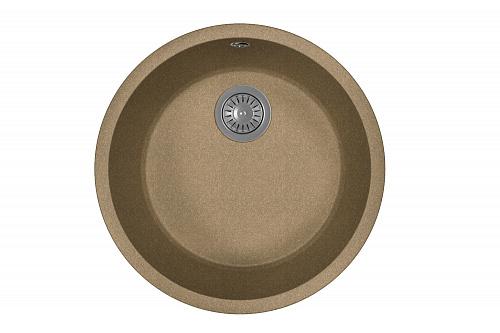 Фото - Кухонная мойка FLORENTINA Вега Зеро, коричневый FG (22.425.D0440.105)