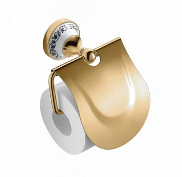 Держатель Zeegres CLASS 27106302 для туалетной бумаги, золото, фото