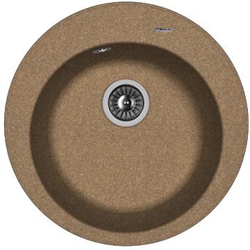 Фото - Кухонная мойка FLORENTINA Никосия, коричневый FG (20.135.B0510.105)