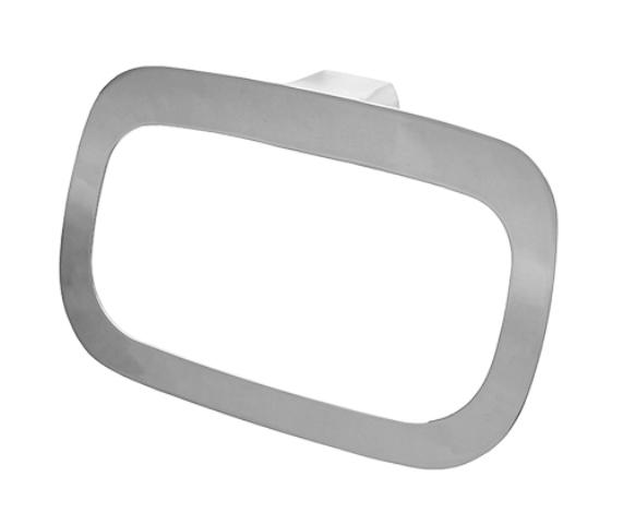 Держатель полотенец WasserKRAFT Kammel K-8360 кольцо металл, хромоникелевое покрытие, фото