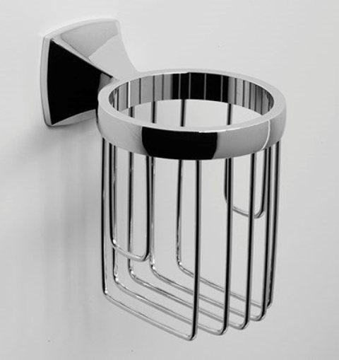 Держатель WasserKRAFT Wern K-2545 освежителя металл, хромоникелевое покрытие, фото