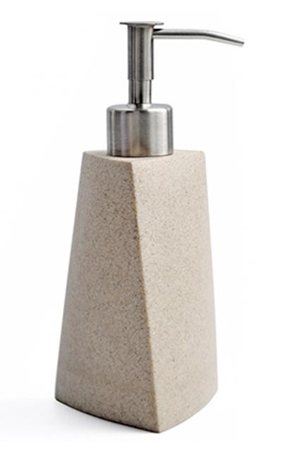 Дозатор для жидкого мыла WasserKRAFT Ohre K-37799, 200 ml полирезин, нержавеющая сталь, фото