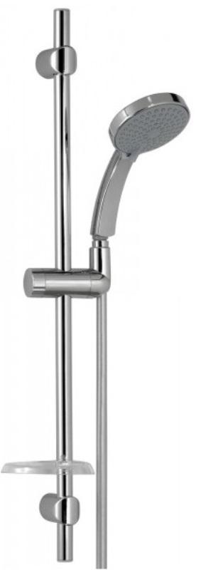 Фото - Ручной душ Jacob Delafon CITRUS E12920-CP с шлангом и штангой, d 110 мм (хром)
