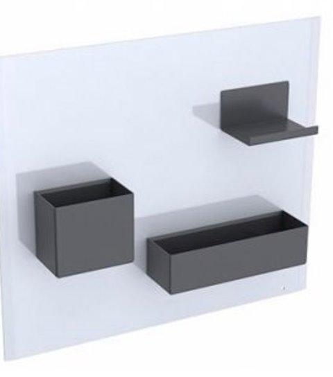 Фото - Комплект магнитных досок Geberit 500.649.01.2 ACANTO /44,9 x 38,8 x 7,5/ (белый)