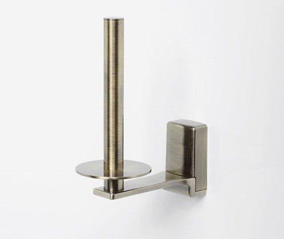 Держатель туалетной бумаги WasserKRAFT Exter K-5297 металл, покрытие светлая бронза, фото