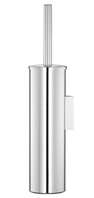 Щетка для унитаза WasserKRAFT K-1087 подвесная металл, хромоникелевое покрытие, фото