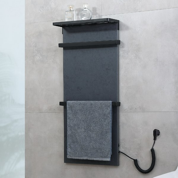Фото - Полотенцесушитель Black&White N-388GM Grey Dark Marble (900x400x139)