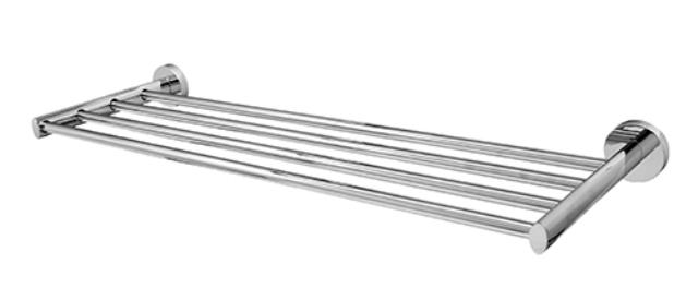 Полка для полотенец WasserKRAFT Rhein K-6211 металл, хромоникелевое покрытие, фото
