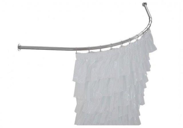 Карниз для ванны дуга нерж.ст. (Aquanet Jamaica 1600*1000) (152670), фото