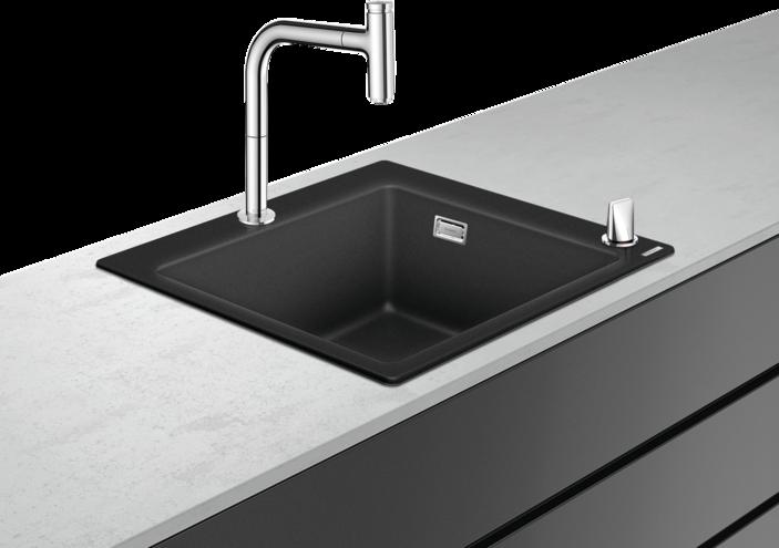 Фото - Кухонная комбинация Hansgrohe 43217000 C51-F450-06 450