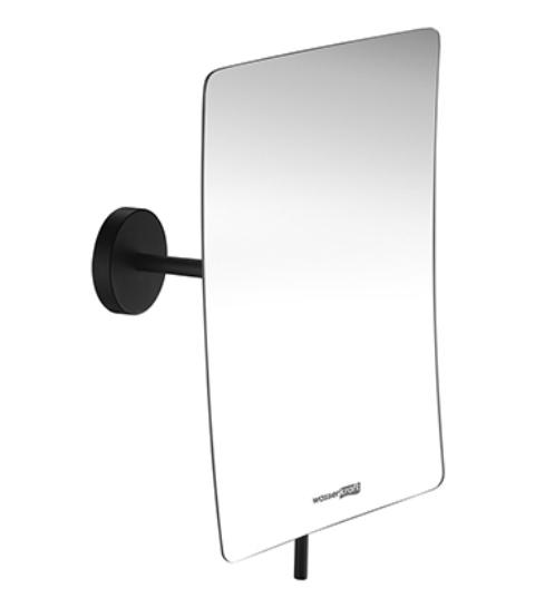Зеркало WasserKRAFT K-1001 Black с 3-х кратным увеличением, фото
