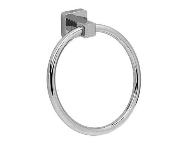 Фото - Держатель полотенец WasserKRAFT Lippe K-6560  кольцо металл, хромоникелевое покрытие