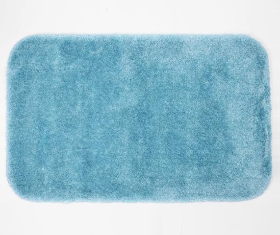 Коврик WasserKRAFT Wern BM-2594 Turquoise для ванной комнаты, фото