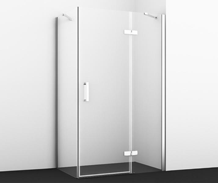 Фото - Душевой уголок WasserKRAFT Aller 10H07R White, прямоугольник, с правой распашной дверью