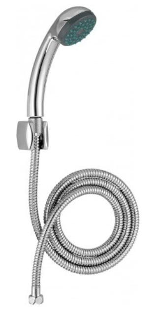 Фото - Ручной душ Jacob Delafon ECO E14321-CP шланг, держатель и лейка (хром)