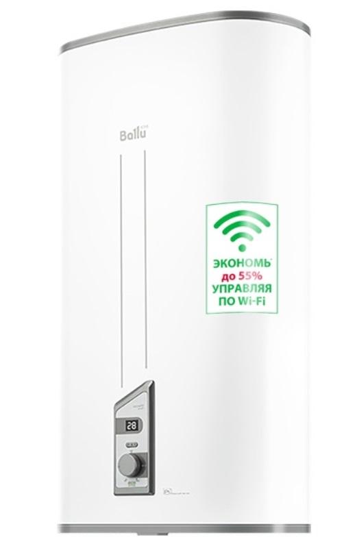 Фото - Водонагреватель накопительный электрический Ballu BWH/S 80 Smart WiFi