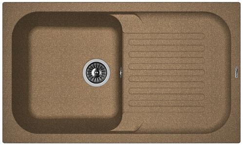 Фото - Кухонная мойка FLORENTINA Арона 860, коричневый FG (20.225.D0860.105)