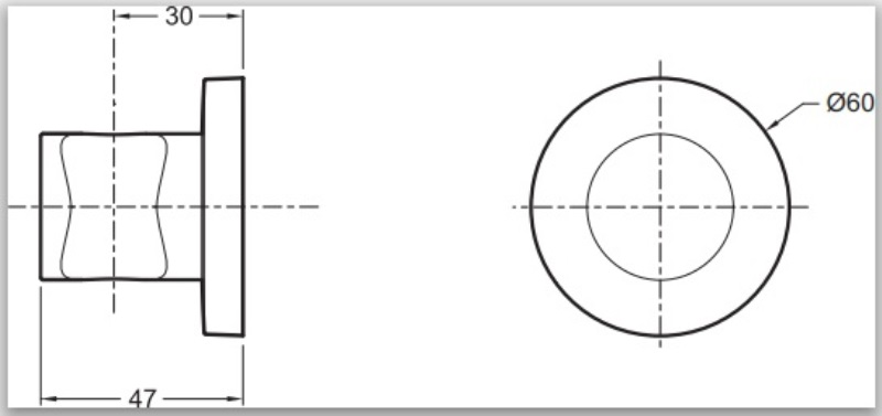 Фото - Держатель для ручного душа Jacob Delafon 8466D-CP MODULO круглый, (хром)