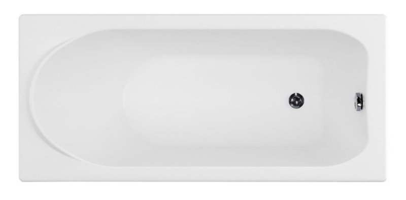Фото - Акриловая ванна Aquanet NORD 160*70 (204018)