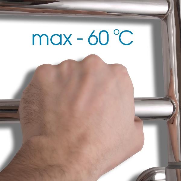 Фото - Электрический полотенцесушитель Energy GRAND 800x400