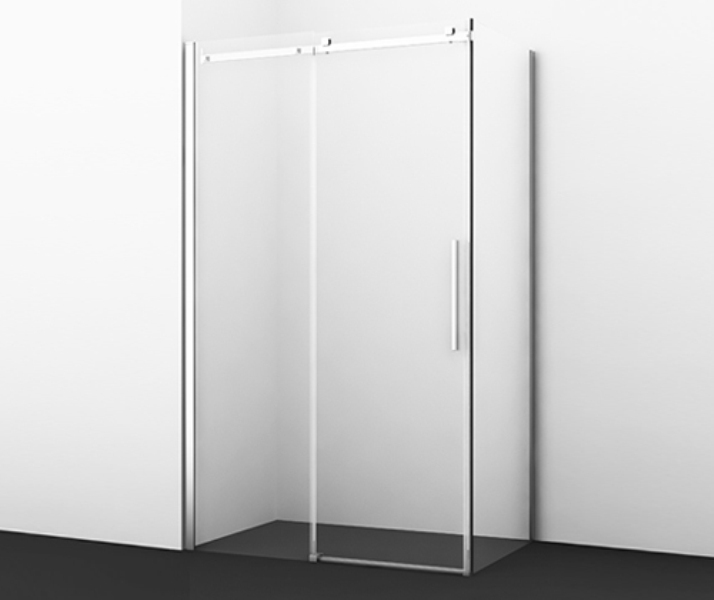 Фото - Душевой уголок WasserKRAFT Alme 15R10, прямоугольник, с универсальной раздвижной дверью