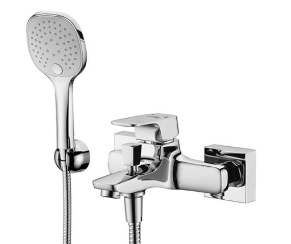Фото - Смеситель WasserKRAFT Salm 2701 для ванны с коротким изливом латунь, хромоникелевое покрытие