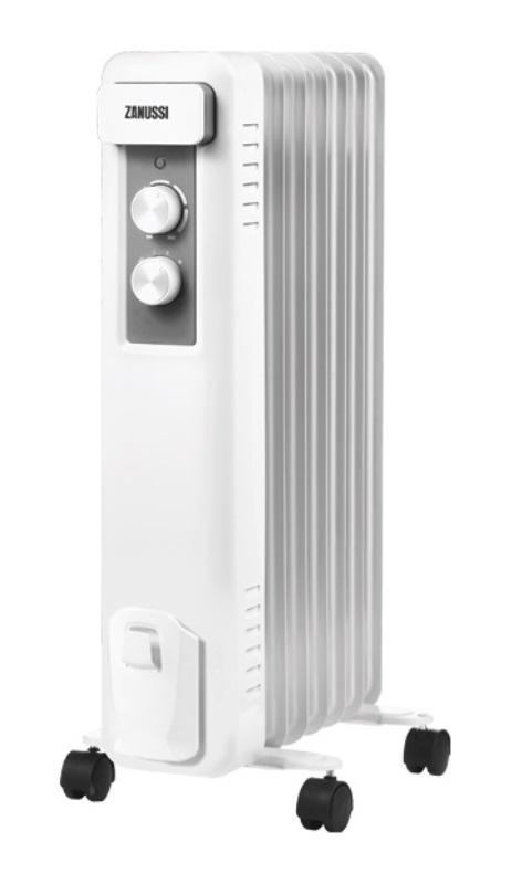 Фото - Масляный радиатор Zanussi Casa ZOH/CS-07W 1500W (7 секций)
