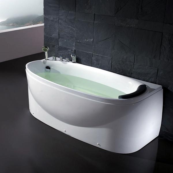 Фото - Акриловая ванна EAGO AM1104RD (Left) (1700x800x640)