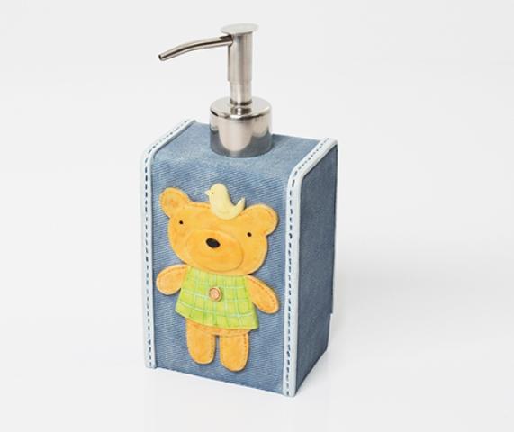 Дозатор для жидкого мыла WasserKRAFT Lossa K-3499, 330 ml полирезин, фото