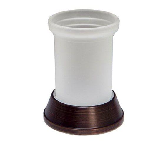 Фото - Стакан для зубных щеток WasserKRAFT Isar K-2328 металл, матовое стекло, покрытие