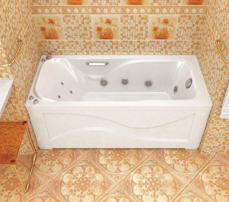 Фото - Акриловая ванна Тритон ДЖУЛИЯ 160х70 без каркаса