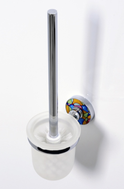 Фото - Щетка WasserKRAFT Diemel K-2227 для унитаза подвесная