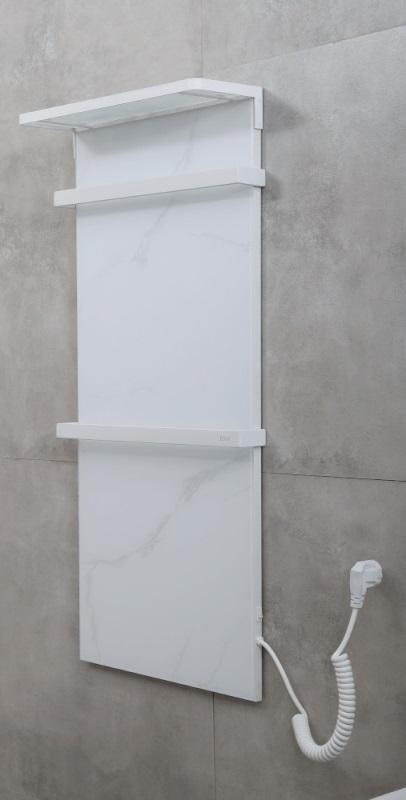 Фото - Полотенцесушитель Black&White N-388WM White Marble (900x400x139)