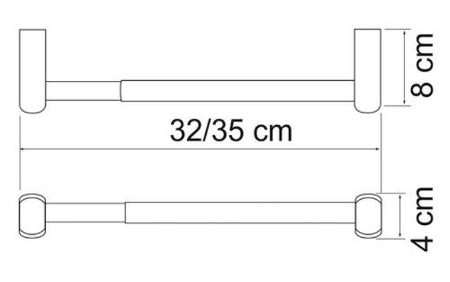 Держатель бумажных полотенец WasserKRAFT Berkel K-6891, фото