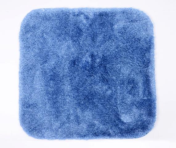 Коврик WasserKRAFT Wern BM-2503 Dark Blue для ванной комнаты, фото