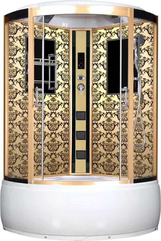 Фото - Душевая кабина Niagara Lux 7744G золото (120x120)