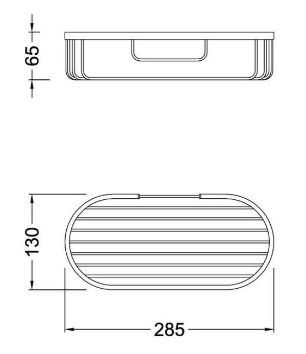 Полка для мочалок Timo Nelson 160078/02 antique, фото