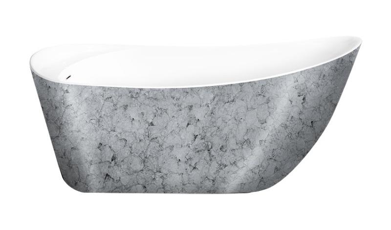Фото - Акриловая ванна Lagard MINOTI Treasure Silver
