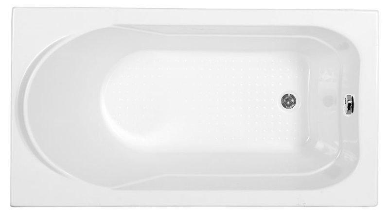 Фото - Акриловая ванна Aquanet WEST 130*70 к/с69 (205300)