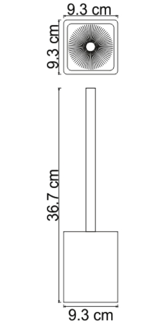 Щетка WasserKRAFT Oder K-9627 для унитаза, фото