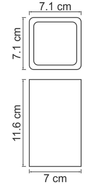 Стакан WasserKRAFT Oder K-9628 для зубных щеток, фото