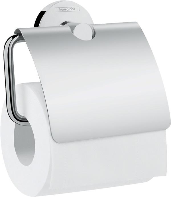 Держатель Hansgrohe 41723000 Logis д/ туалетной бум., фото
