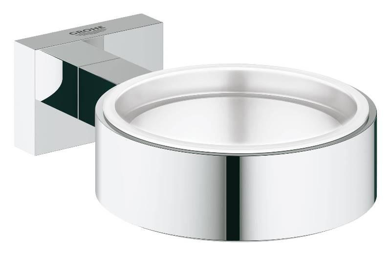 Держатель Grohe 40508001 Essentials Cube для стакана/мыльн., фото
