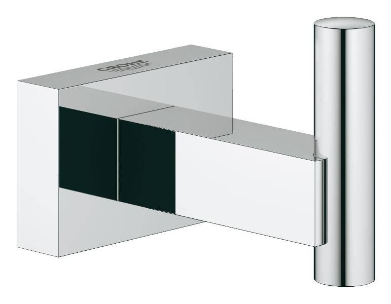Крючок Grohe 40511001 Essentials Cube для банного халата, фото
