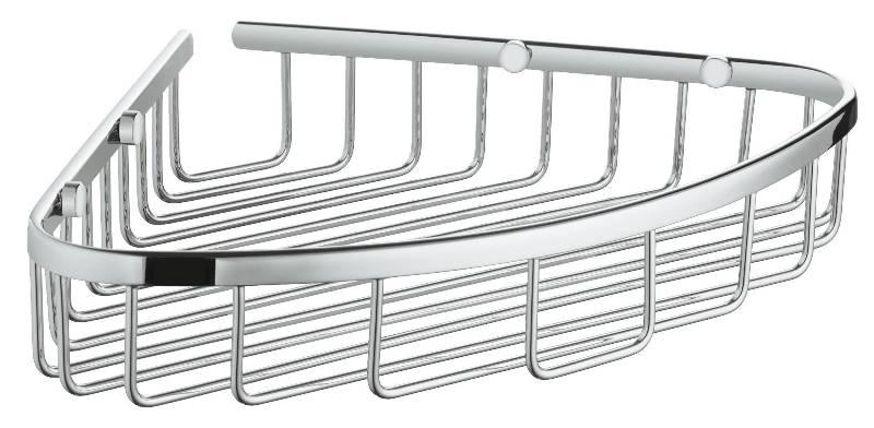 Полочка-решетка Grohe 40663001 BauCosmo угловая, 300 мм, фото